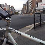 大通りルートで自転車通勤するとこんな感じだった