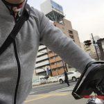 自転車通勤の上着を春物に替えてみた