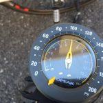 クロスバイクのタイヤ-空気圧はどれくらい?