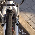 Shimanoの「Vブレーキ」ジオスミストラル2015から搭載