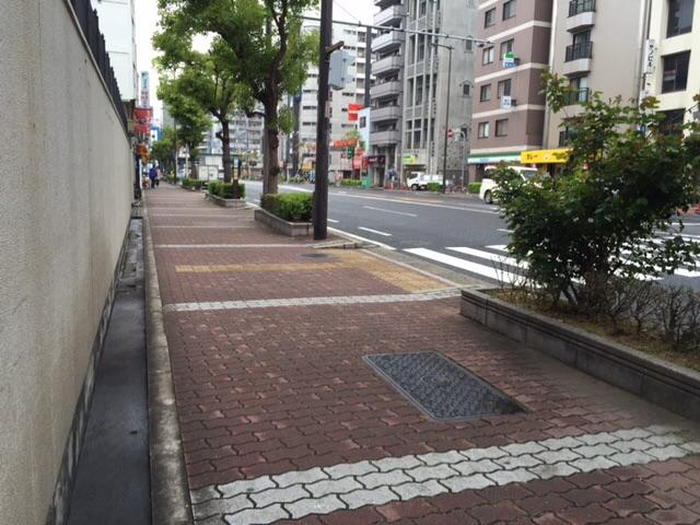 道路交通法で規制されている自転車の歩道走行