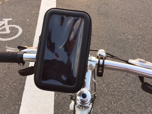 iPhone6Plus自転車用ケース