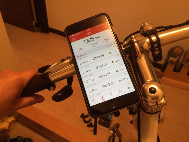 ジオスミストラスにiPhone6Plusを搭載