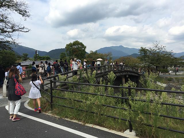 京都の観光客