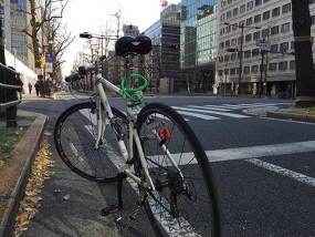 新春初乗りクロスバイク