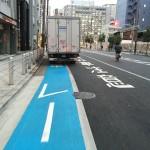 自転車専用レーンの駐車車両問題