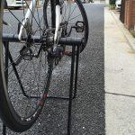 自転車メンテにディスプレイスタンドを使ってみる