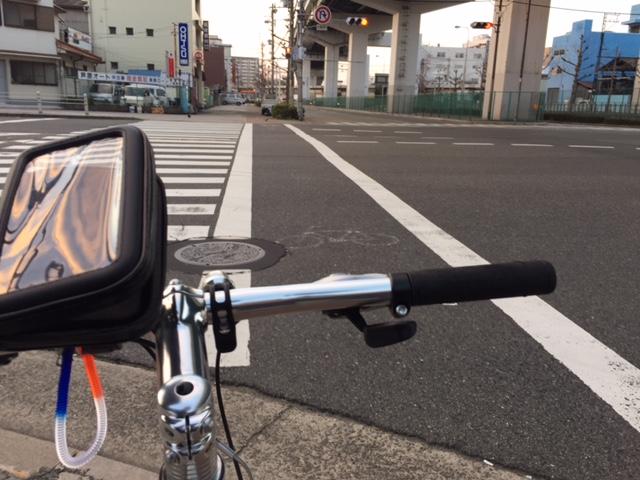 自転車通勤 大通りルート2回目