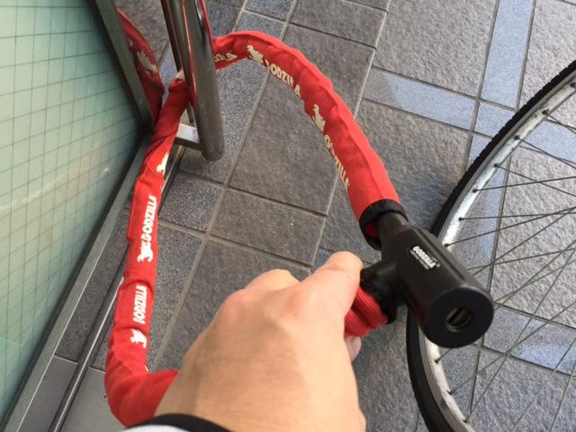 godzila 自転車 ロック