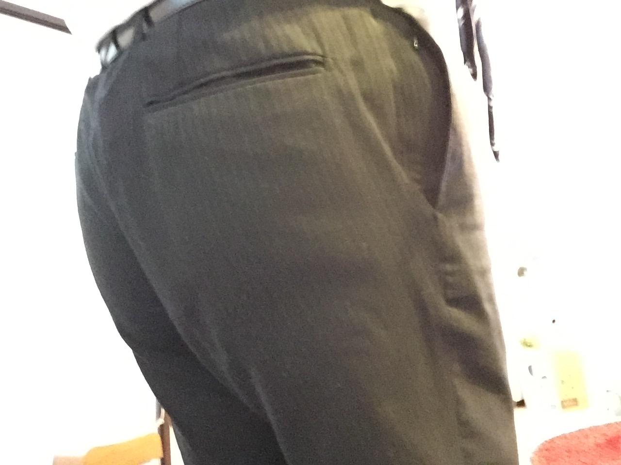 自転車通勤のズボン