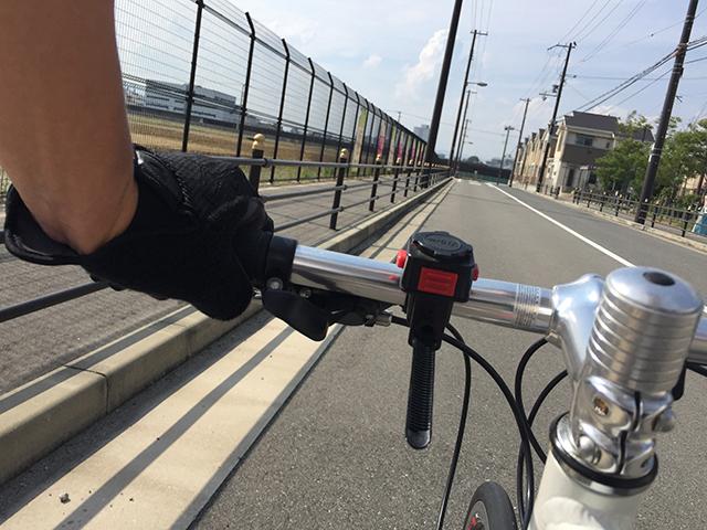 自転車通勤で減量に成功