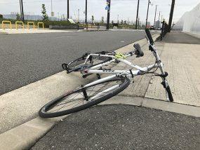 自転車転倒